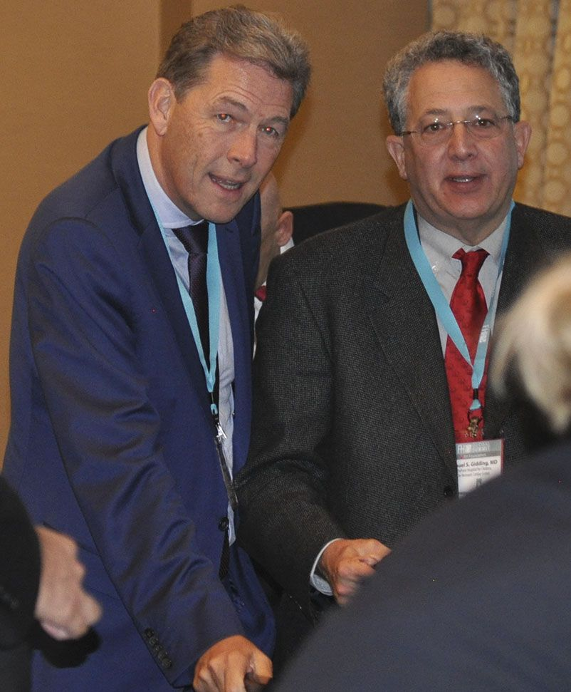 Samuel S Gidding Md And Albert Wiegman Md Phd At The 2014