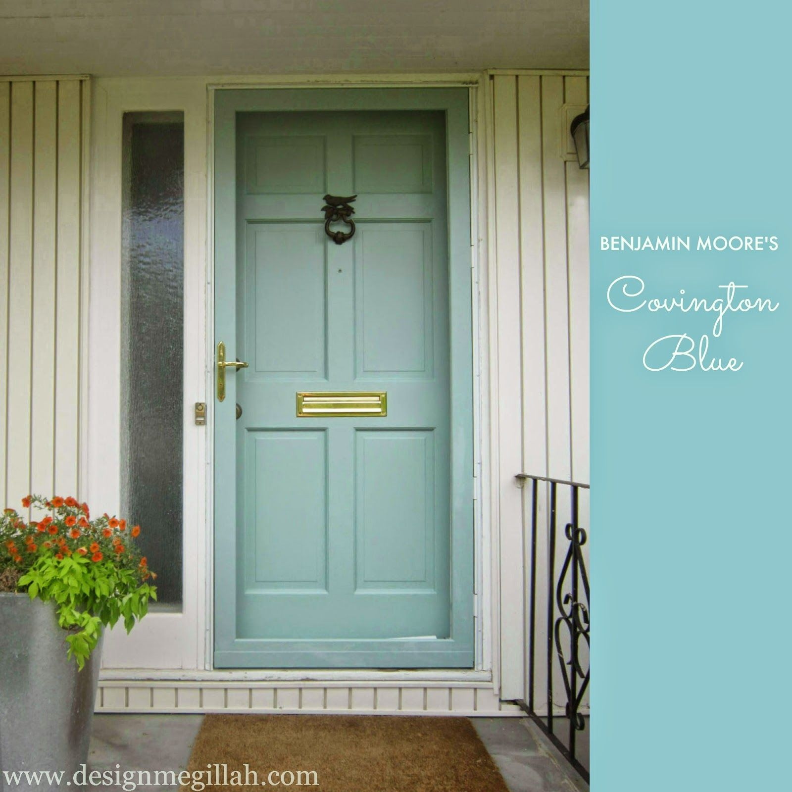 Benjamin moore covington blue color palettes pinterest for Benjamin moore ewing blue