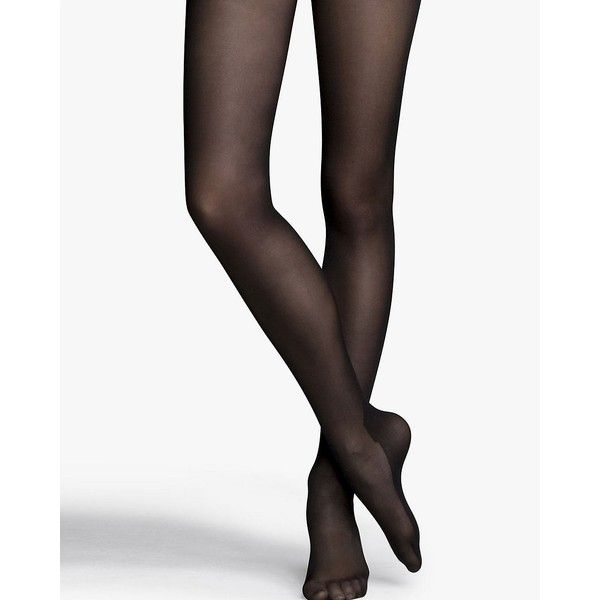 125bf92fb6b Express Black Opaque Full Tights ( 15) ❤ liked on Polyvore featuring  intimates