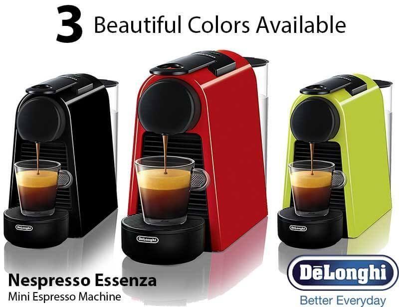 Nespresso essenza mini espresso machine review features specs