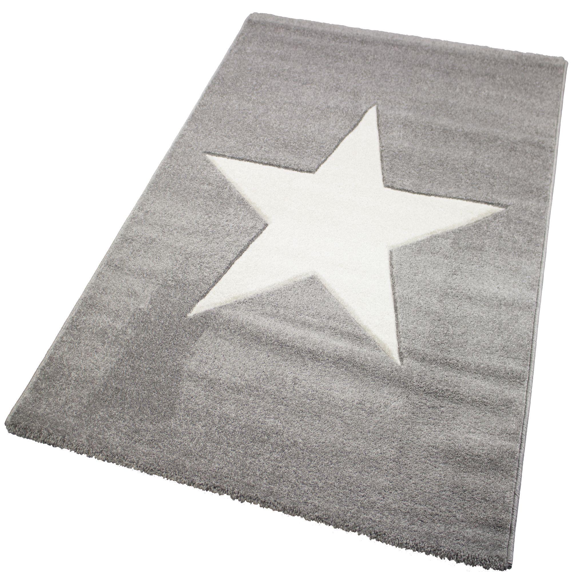 Tapis gris 120x170cm   smith   les tapis textiles et tapis salon ...
