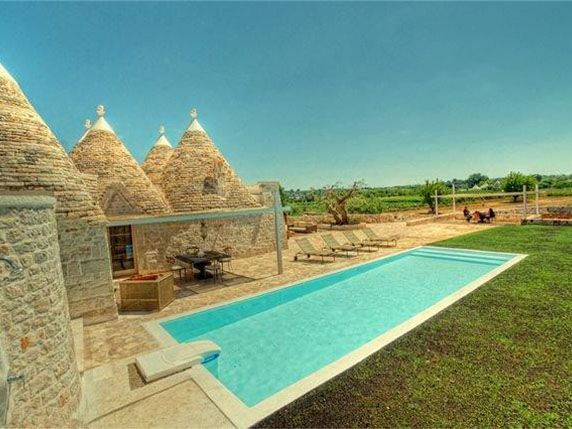 #Natural! #Elegant and #Romantic #Property of Trulli and Lamie, Just a Few Km From Ostuni -  #Villa for Sale in Cisternino, Puglia, Italy - #Cisternino, #Puglia, #Italy