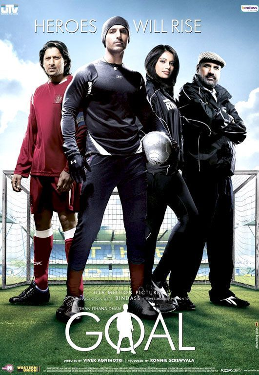 Watch Dhan Dhana Goal 2007 Hindi Movie DVDRip 576p Upscale X264 AC3 E Subs Online Free ExDR