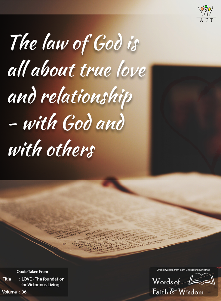 The Law Of Is All About True Love And Relationship With And With