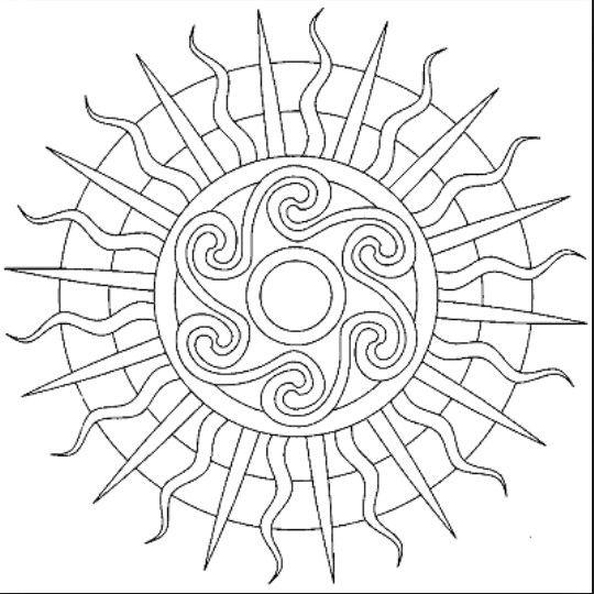 Pin de ELOIZA LIMA en circulos y formas | Pinterest | Mandalas ...