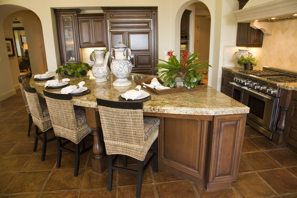 Custom Kitchen Islands Pictures Ideas Tips From Hgtv: 39 Fabulous Eat-In Custom Kitchen Designs