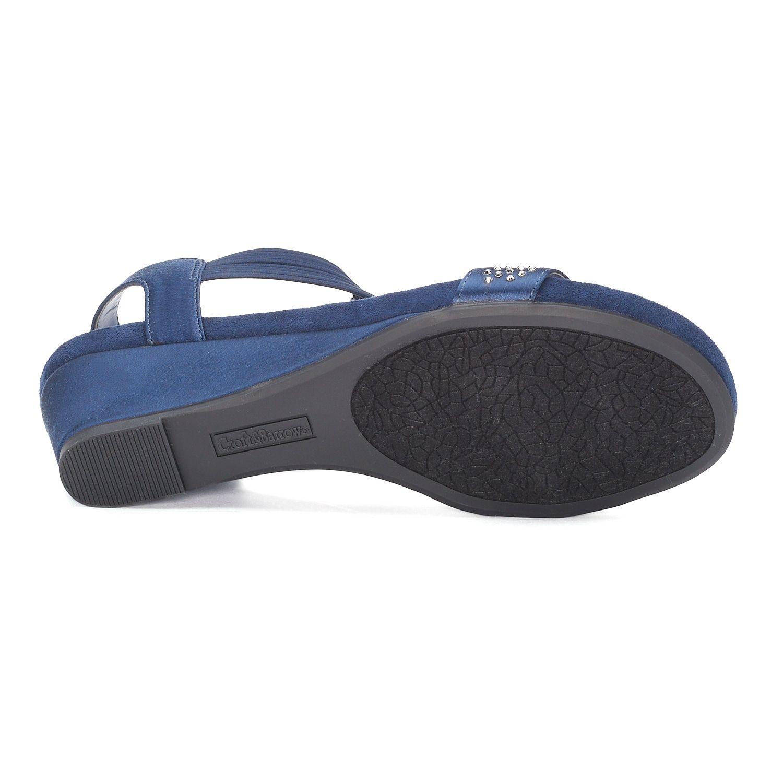 6637a2b56ab5 Croft   Barrow  Midori Women s Wedge Sandals  Midori