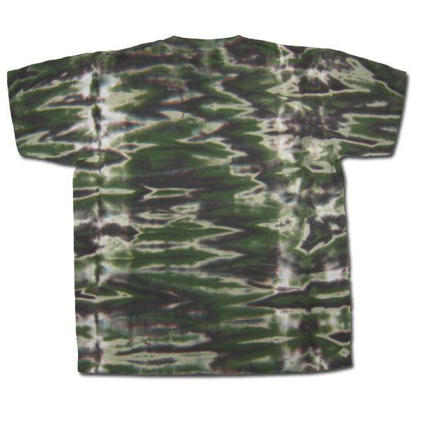 tie-dye T-shirt BACK
