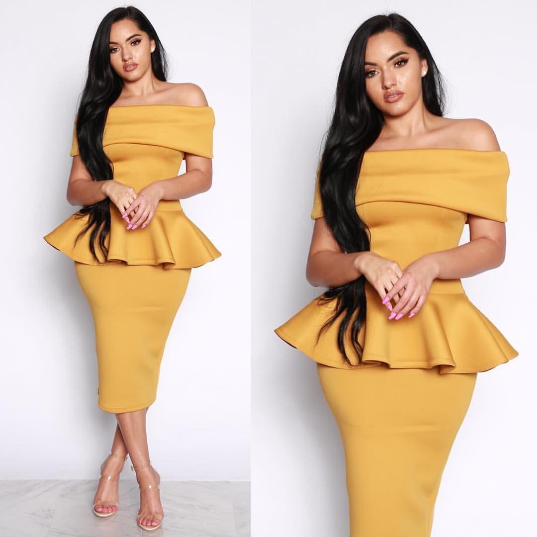 pinterest: je suis gold | elegant bodycon dress, elegant