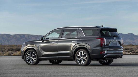 Krossover Hyundai Palisade 2019 Hendaj Palisad 2019 Podushka Bezopasnosti Avtomobili Avtomobil