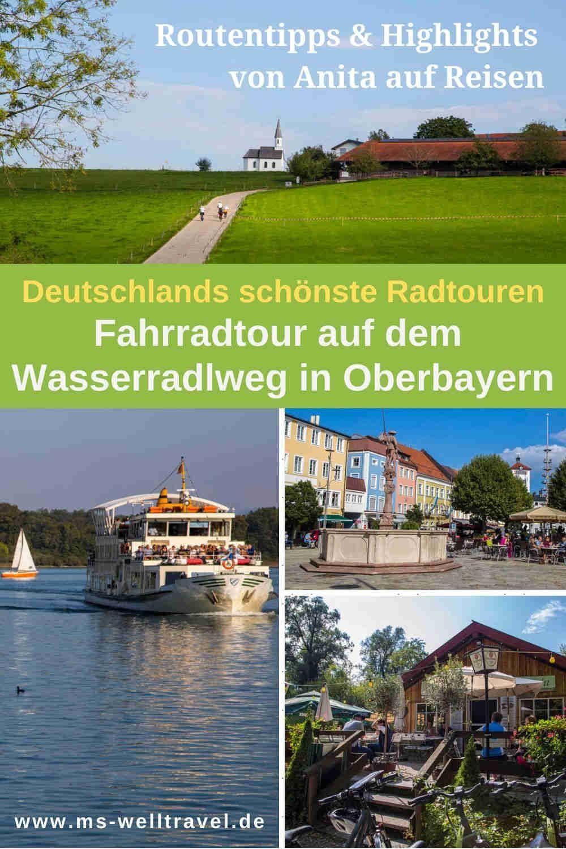 Tipps Zur Radtour Auf Dem Wasserradlweg In Oberbayern Reisen