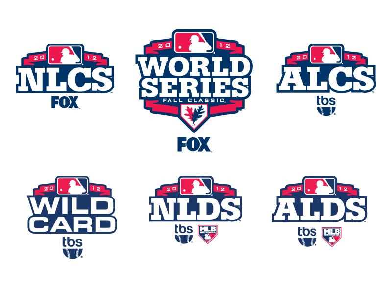 2012 Mlb Postseason Logos Sports Graphics Mlb Postseason
