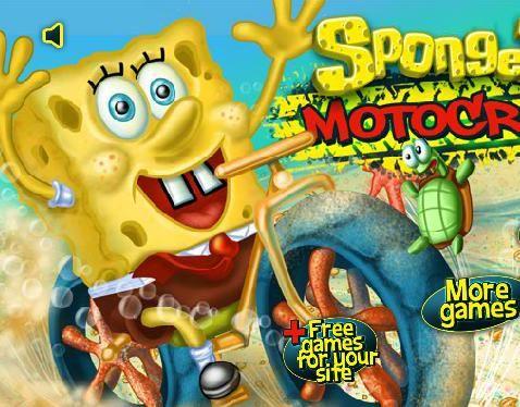 لعبة موتوسيكل سبونج بوب Free Games More Games Games