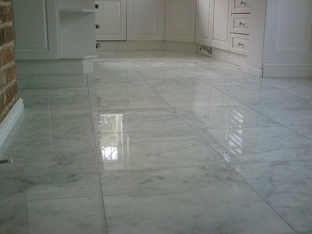 Polished White Marble Mugla