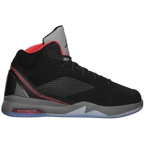 310037a1e21 Jordan Future Flight Remix - Men's - Basketball - Shoes - Black/Gym Red