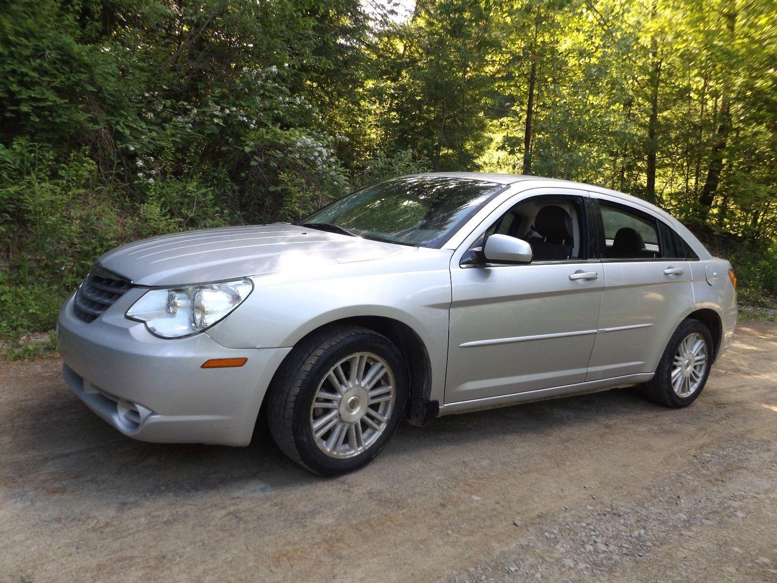 Car Brand Auctioned Chrysler Sebring Touring Sedan 4 Door No