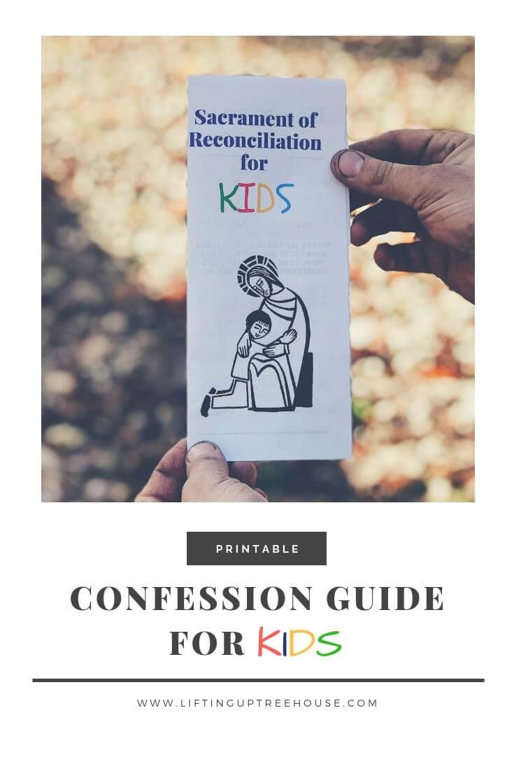Confession guide for kids limited time freebie