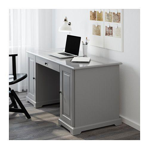 LIATORP Desk - Gray - IKEA