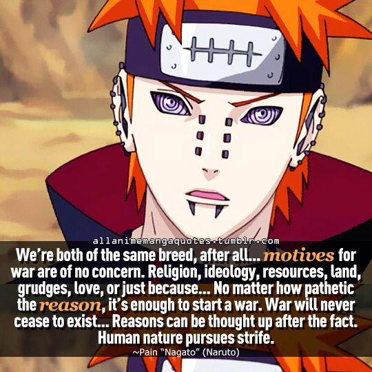 Pin by Momo on N a r u t o . | Naruto quotes, Anime quotes ...