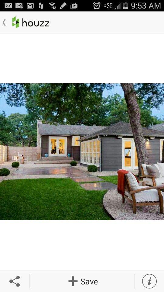 modern landscaping backyard design
