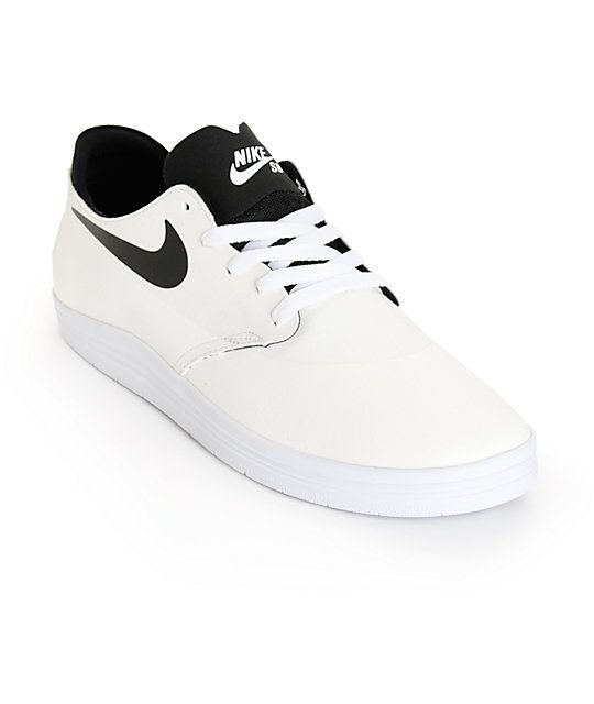 811513b57d3e Get a crisp new look with a Lunarlon cushioned midosle for comfort and a  two-piece White upper with a Hyperscreen traction layer for durability and  board ...