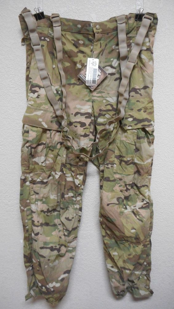 MULTICAM GEN III ECWCS, LEVEL 5 TROUSER, SOFT SHELL, COLD WEATHER, NWT, LRG-LONG