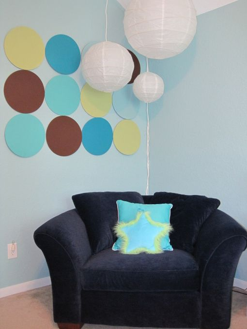 I Think I Might Put Just The Brown Ones On My Blue Wall (just Like · Ikea Girls  RoomGirls Room DesignBlue ...