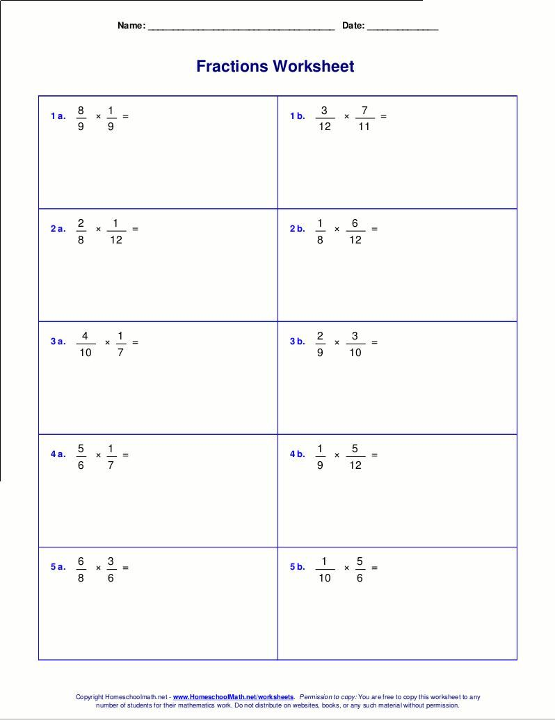 Multiplication Arrays Worksheets Grade 5 Fractions Worksheets Math Fractions Worksheets Math Worksheets