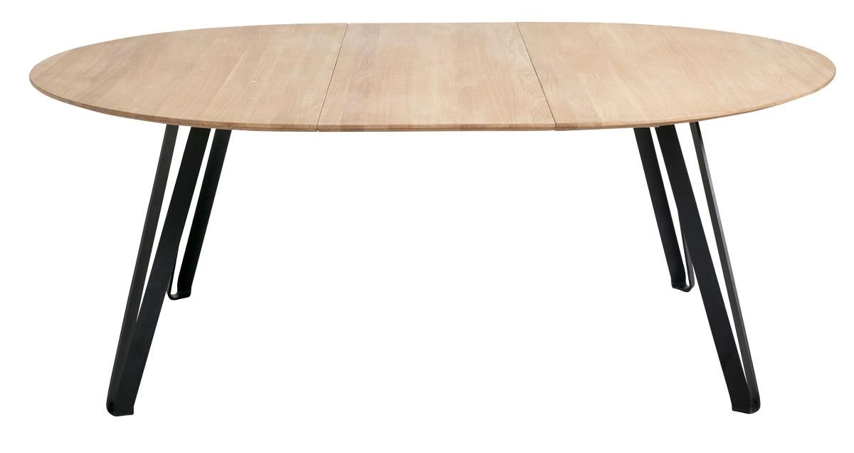 Dining Table Natural Oak Round