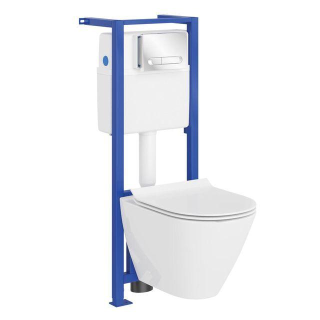Zestaw Podtynkowy Capri Cersanit Capri Sink Bathroom