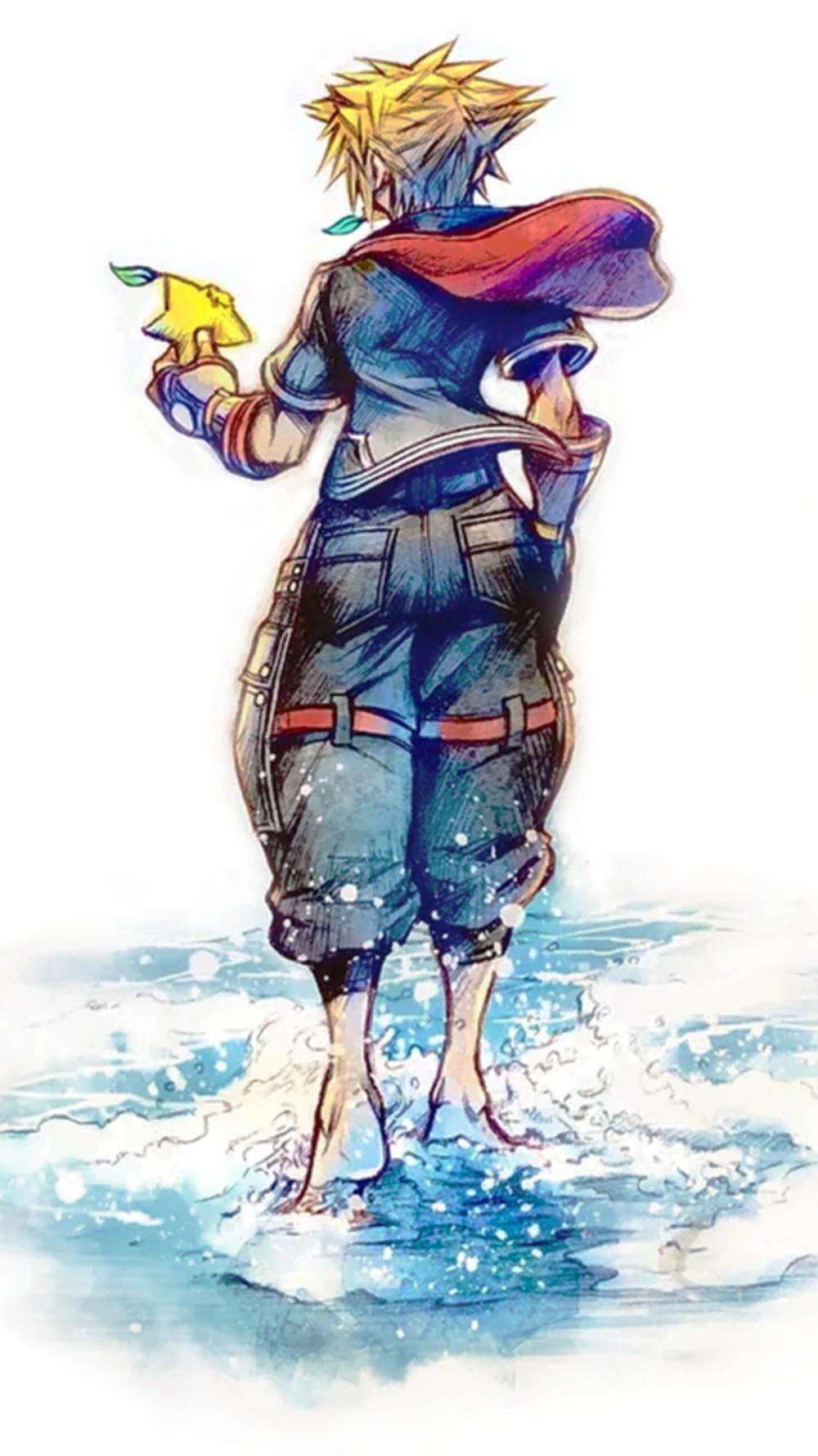 Kingdom Hearts 3 Cover Art Sora In 2020 Kingdom Hearts Wallpaper Kingdom Hearts Vanitas Kingdom Hearts
