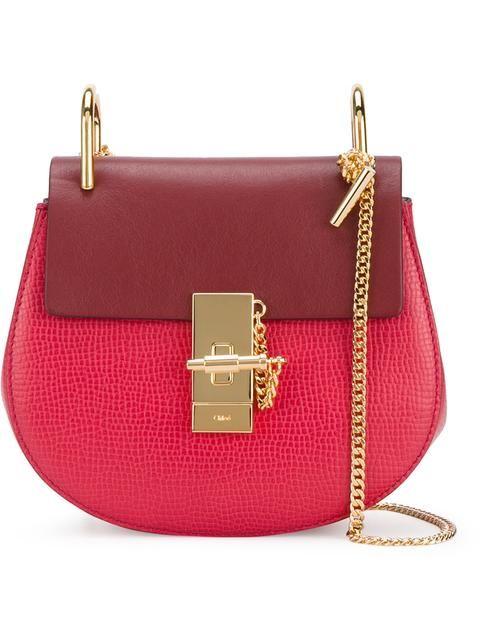 CHLOÉ 'Drew' bag. #chloé #bags #suede #