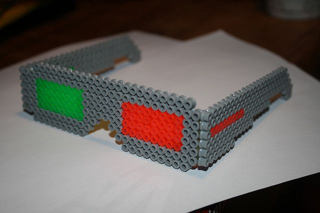 perler beads 3D designs   Recent Photos The Commons Getty Collection Galleries World Map App ...