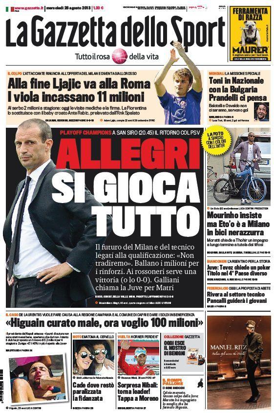 La Gazzetta dello Sport (280813) Sport