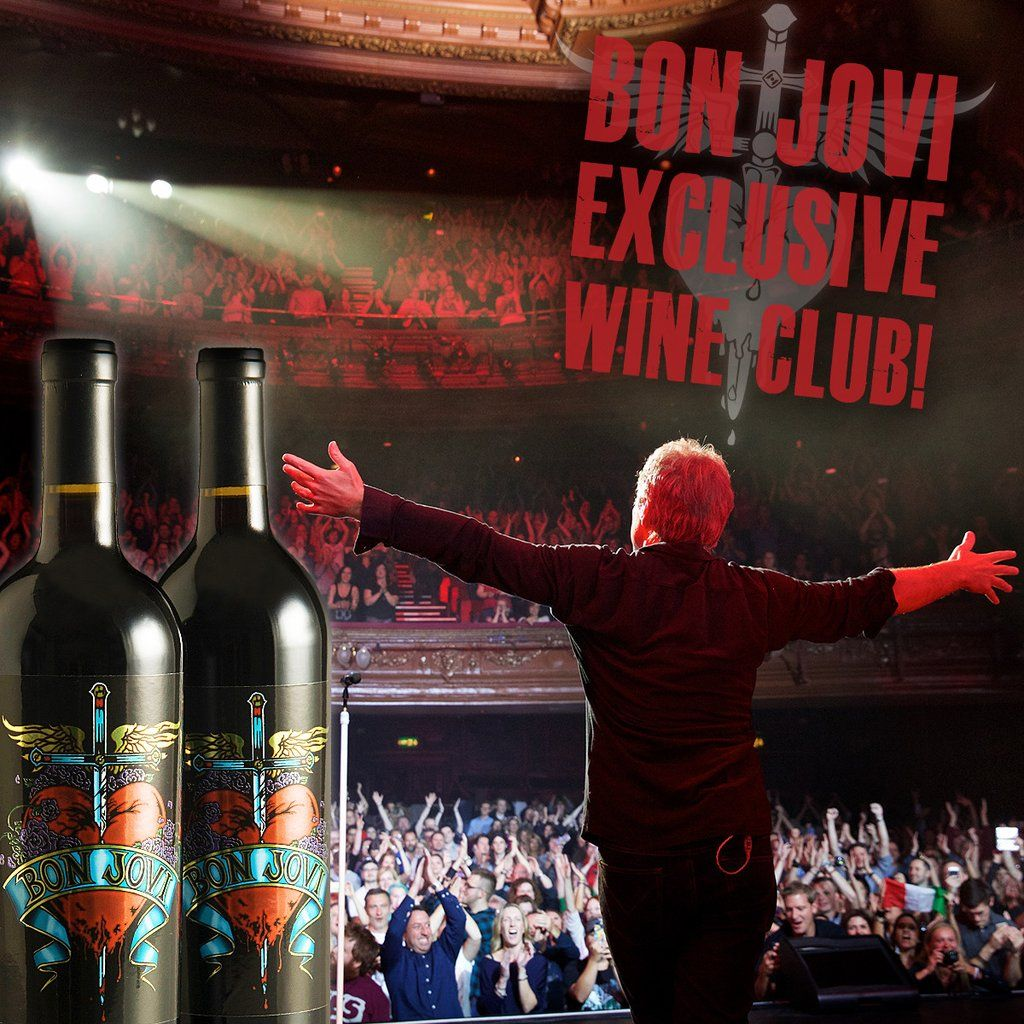 Bon Jovi Wine Club Wine Clubs Wine Collection Wine