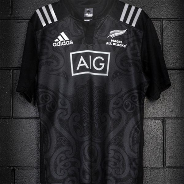 New Zealand Maori All Blacks 2016 Rugby Jersey  7b366b979
