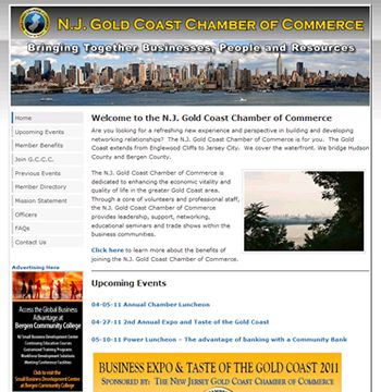 Redesign of New Jersey chamber of commerce website. View project details at: http://sbmwebsitedesign.com/new-jersey-chamber-of-commerce