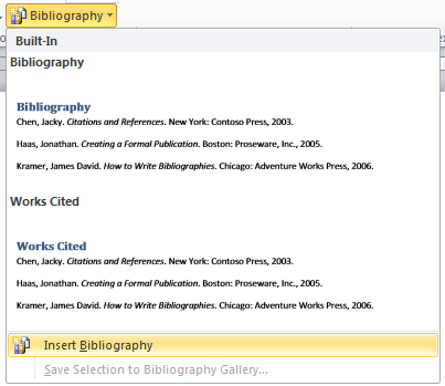 Citing Bibliography  Annotated Bibliography