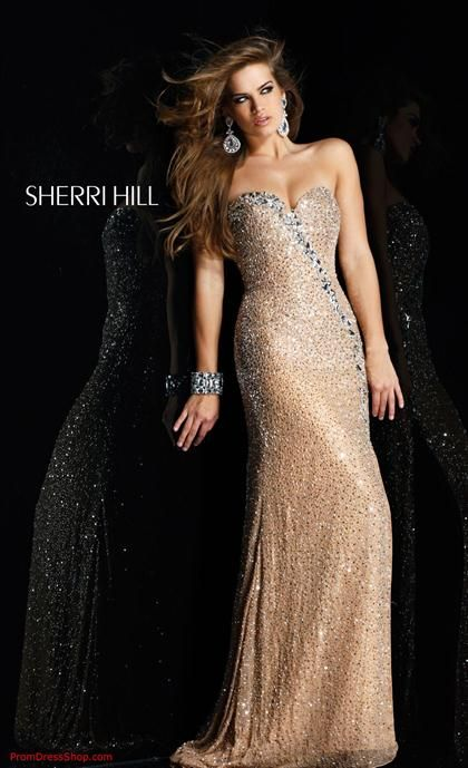 Champagne Homecoming Dresses 2012