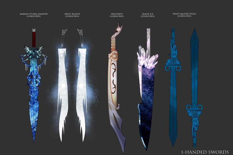 Medieval Melee Weapon Concept Art
