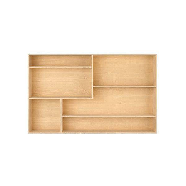 James Irvine Treasure Box Shelf via Polyvore featuring home, home decor e small item storage
