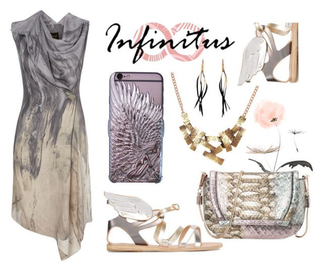 """""""Infinituscases"""" by mahafromkailash ❤ liked on Polyvore featuring French Connection, Ancient Greek Sandals, Isabel Marant, infinituscases and loweinfinituscases"""