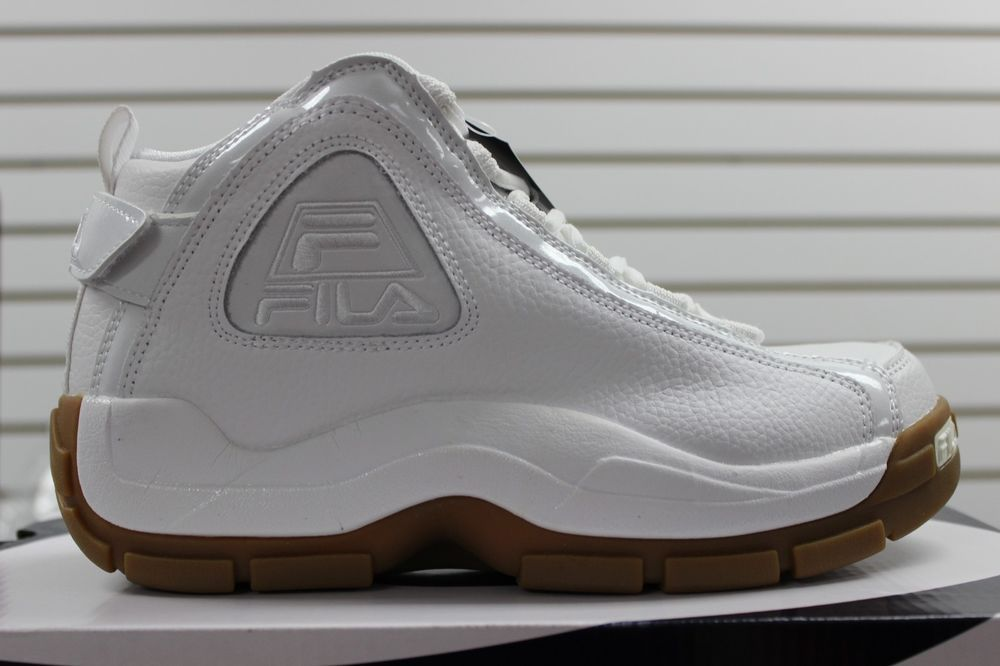 Whitewhitegum Fila Brand Men's Retro Hill 96 Grant Basketball New Ycx7wZq