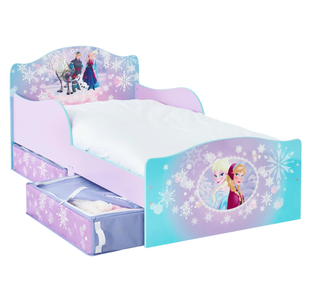 Great Disney Frozen Toddler Bed With Storage