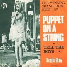 """Sandie Shaw - """"Puppet on a String"""", the winning song of the Eurovision Song Contest 1967"""
