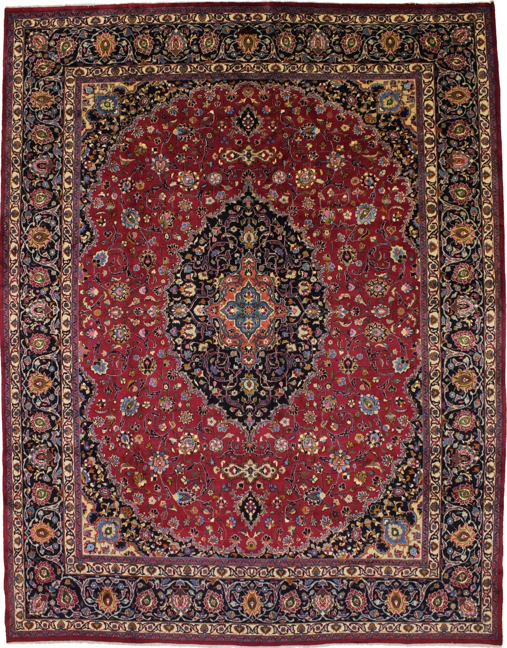 Breathtaking Oversized Signed Sabzevar Persian Rug Oriental Area Carpet 11x14 1 677 90 Picclick Vintage Persian Rug Antique Persian Rug Area Carpet