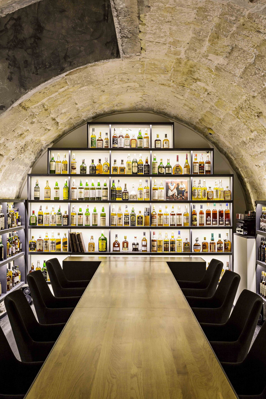 Whisky Bar / jbmn architectes | Whisky bar, Interiors and Wine cellars