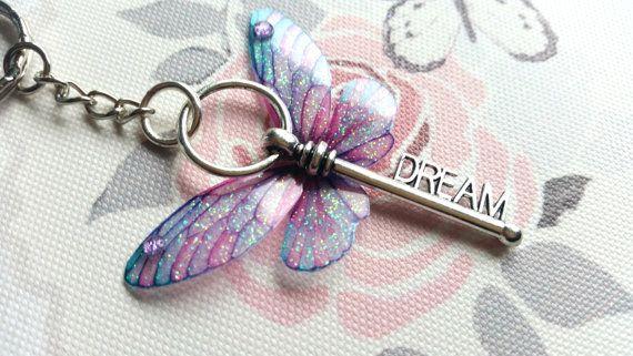 Magischer Traum geflügelten Schlüssel von TheFaeMarketPlace auf Etsy