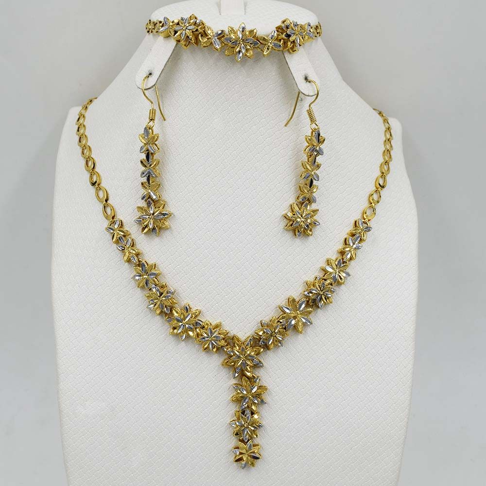 brand unique design fashion dubai color jewelry set high