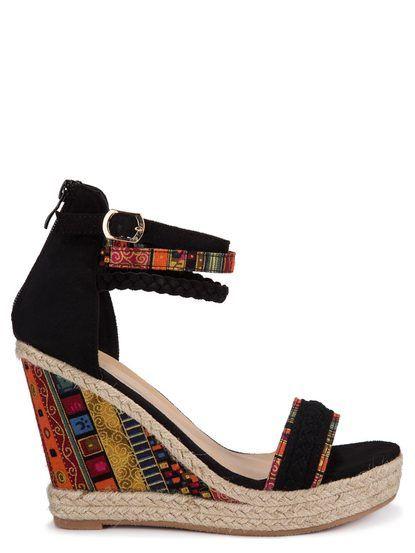 0e0d0c0584 Dámske sandále na platforme W-Lady Exclusive - čierna